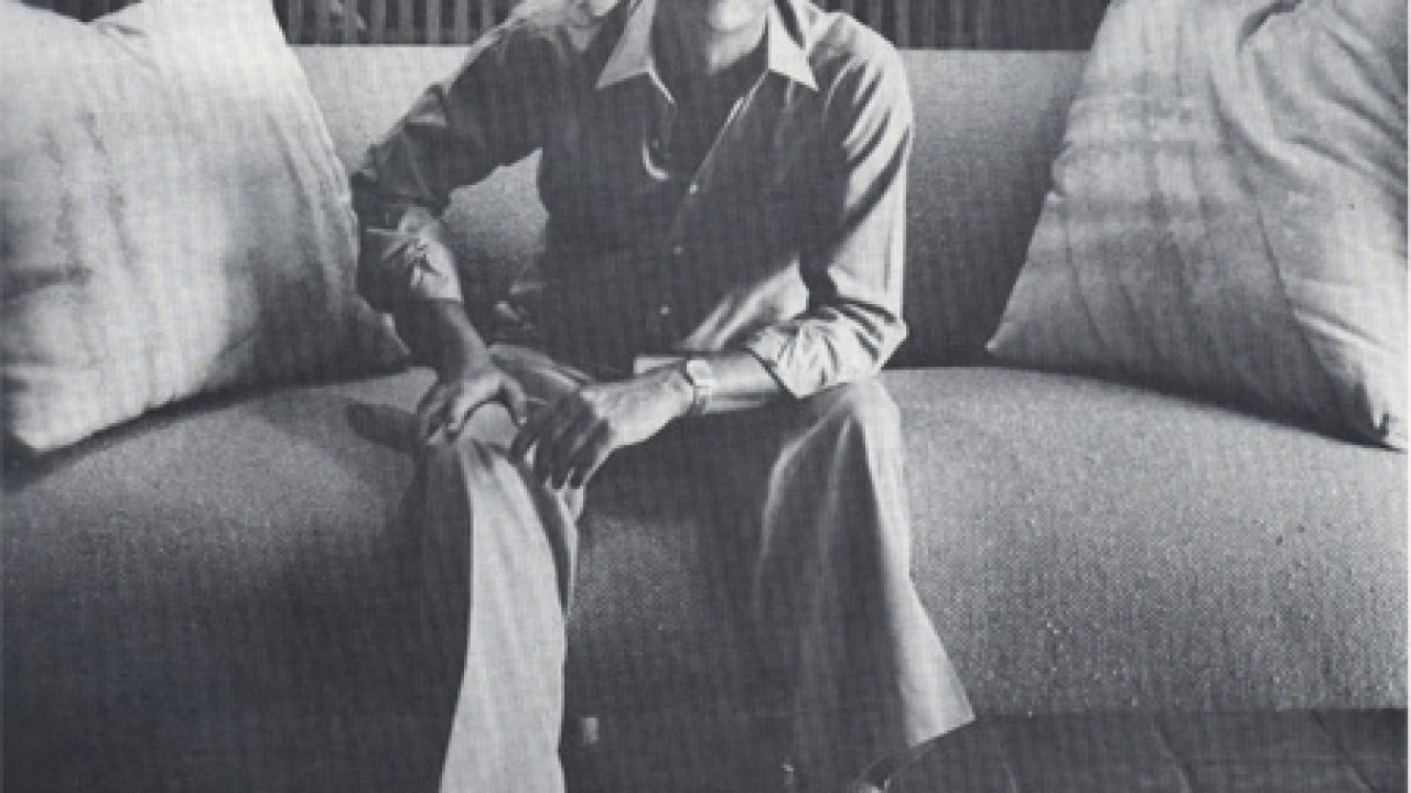 STEVE CHASE LIFESTYLE Q&A October 1980 - Palm Springs Life Magazine