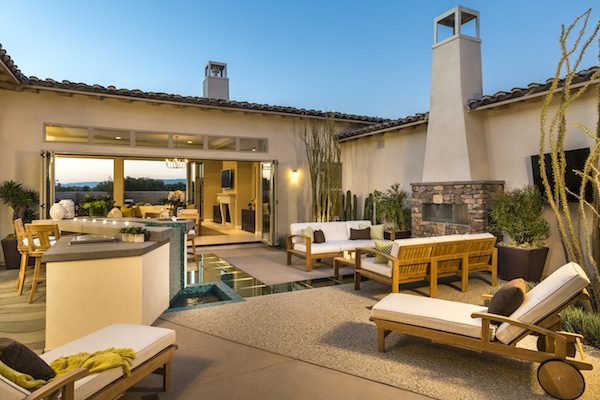 Griffin Ranch La Quinta Takes Indoor Outdoor Living